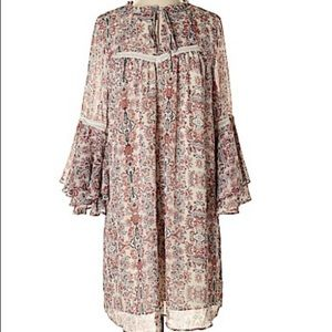 Gibson Latimer Peasant Dress